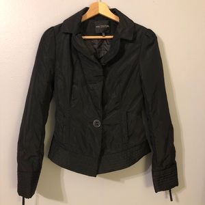 MM Coutures by Miss Me Black Two Piece Jacket Sz S